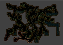 A generated map